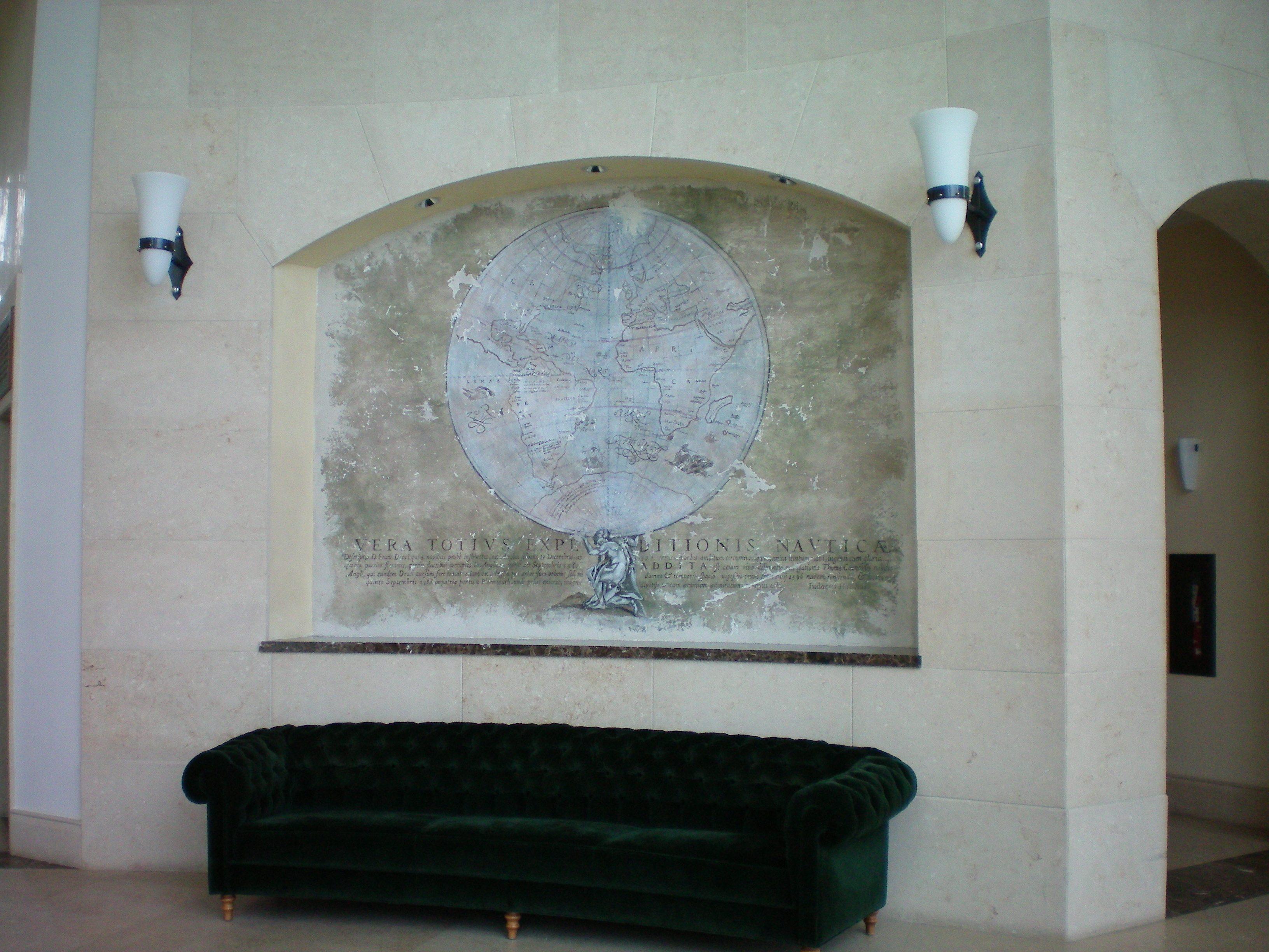 Santa Maria lobby Brickell Miami