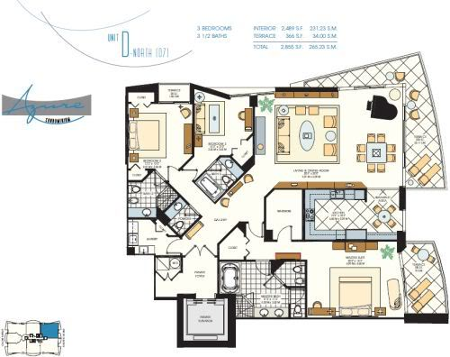 Azure 307 floor plan