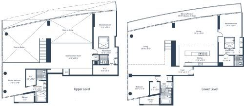 Marina Blue Penthouse 5 floorplan