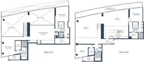 Marina Blue Penthouse 5 floorplan