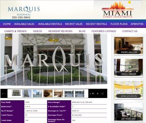 Marquis Miami condos