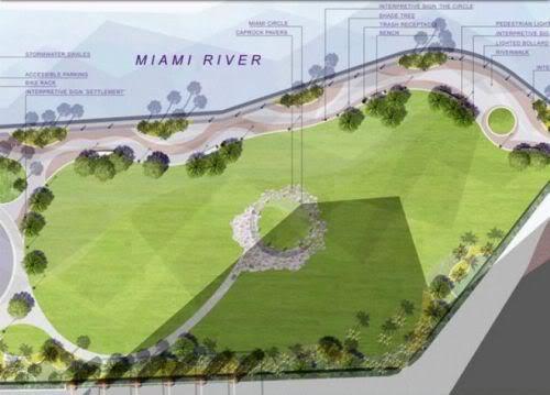 Miami Circle Park rendering