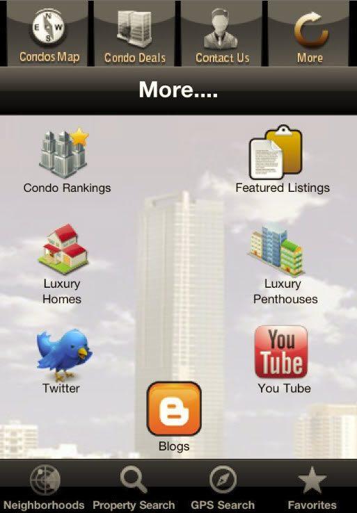 Miami condo investments iPhone app updated