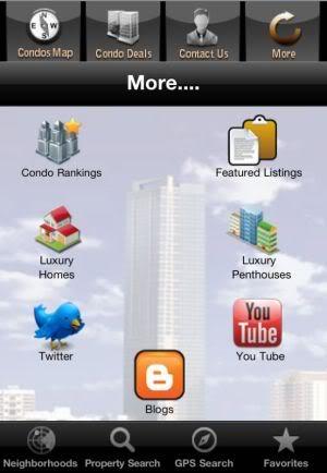 Miami Condo Investments iPhone app