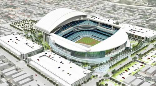 Florida Marlins new stadium