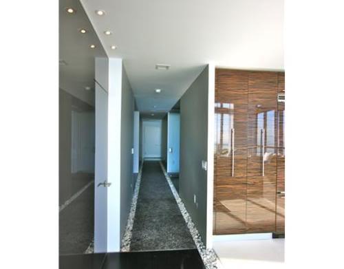 hallway into unit
