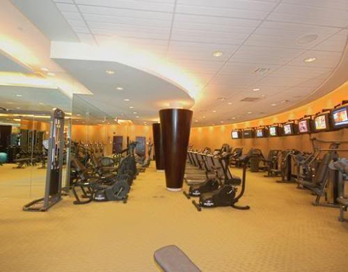 The Bath Club fitness center