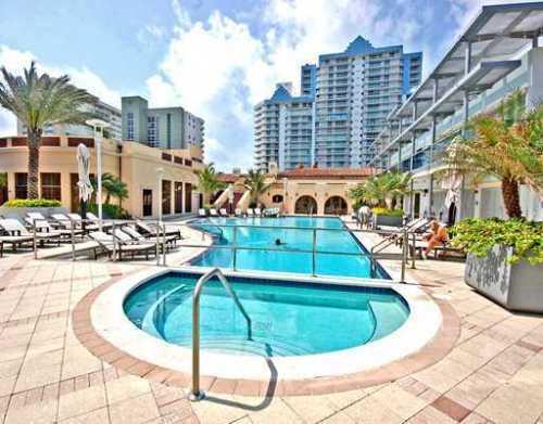 The Bath Club swimming pool