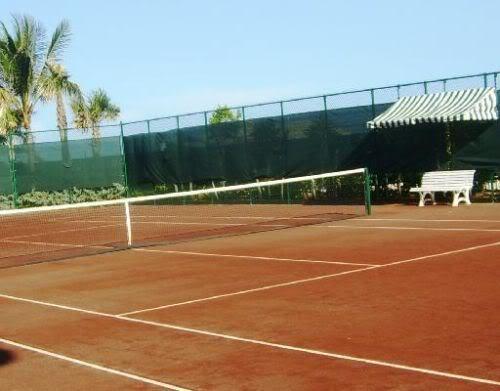 The Bath Club tennis court