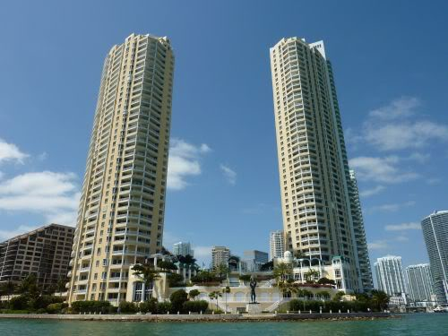 Two Tequesta Point and Three Tequesta Point on Brickell Key