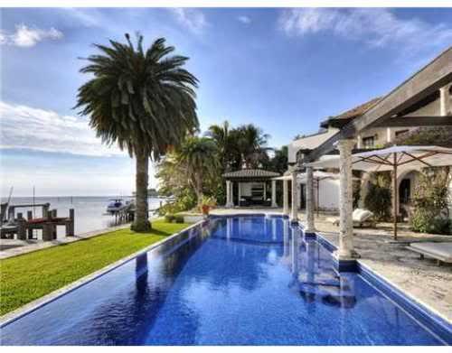 waterfront swimming pool