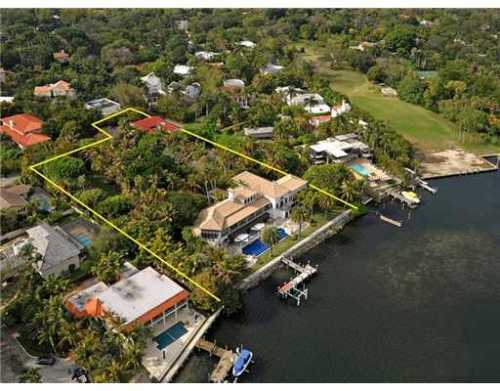 Coconut Grove waterfront home