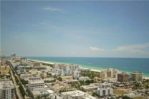 View from Apogee South Beach penthouse