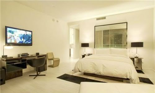 Amar'e Stoudemire master bedroom