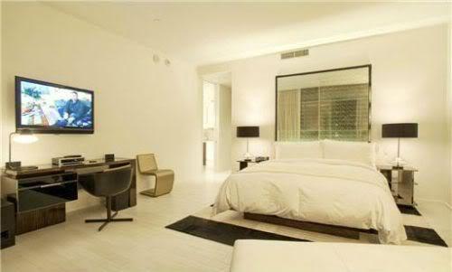 Amar'e Stoudemire master bedroom