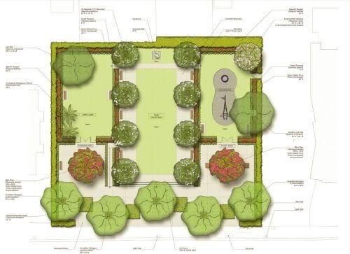 1814 Brickell Avenue Park design
