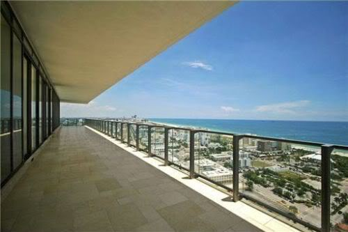 penthouse view and terraces