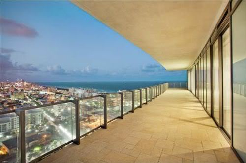 penthouse terraces and view
