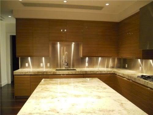 Apogee South Beach penthouse kitchen