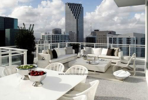 Asia penthouse terrace