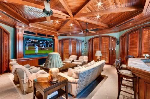 Pat Riley's Coral Gables mansion