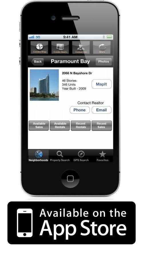 Miami real estate iphone app