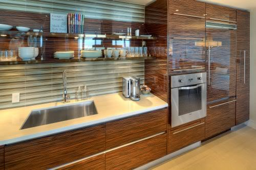 Marquis Residences 2202 kitchen