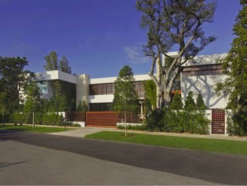Alex Rodriguez Miami Beach home