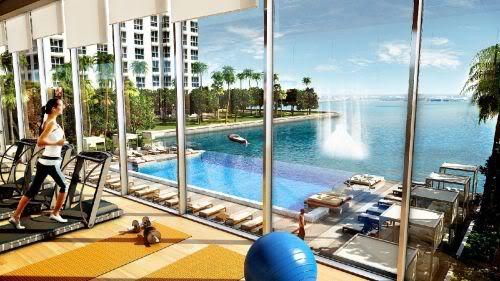 Icon Bay pool