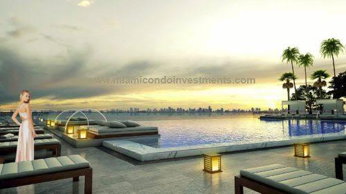 Icon Bay swimming pool