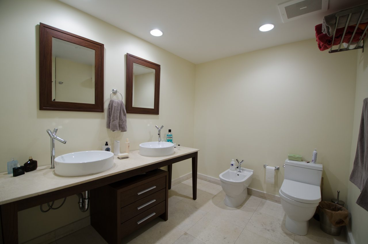 Bathroom at Icon Brickell