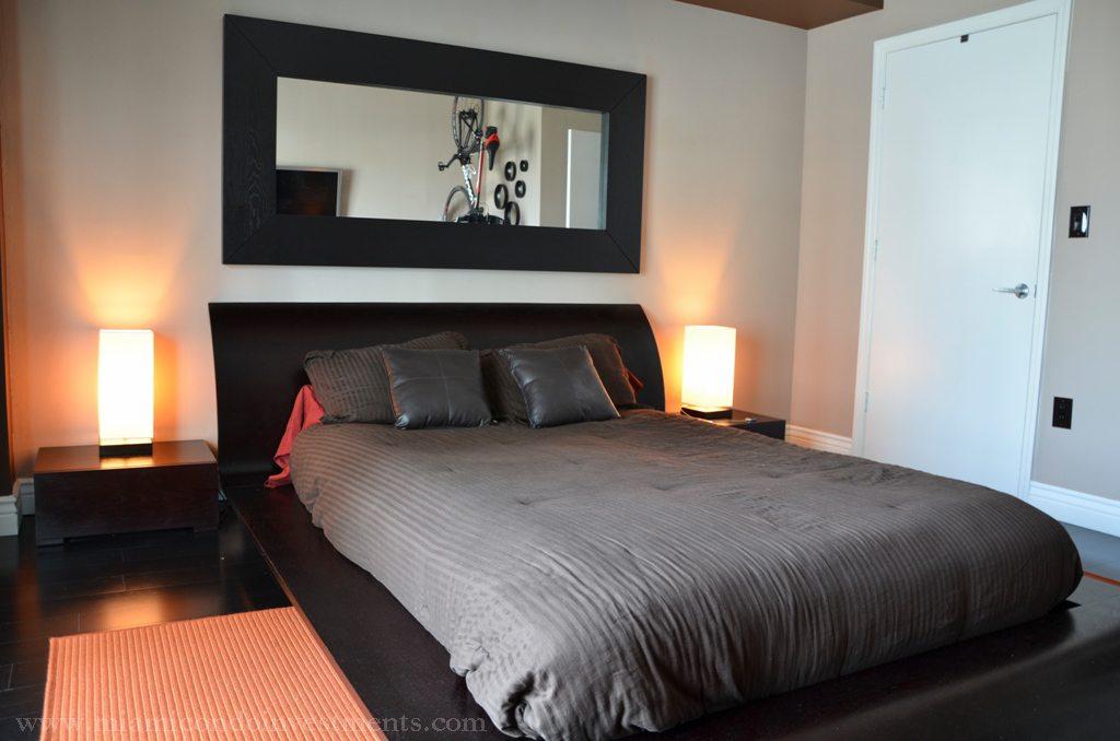 500 Brickell 1608 bedroom