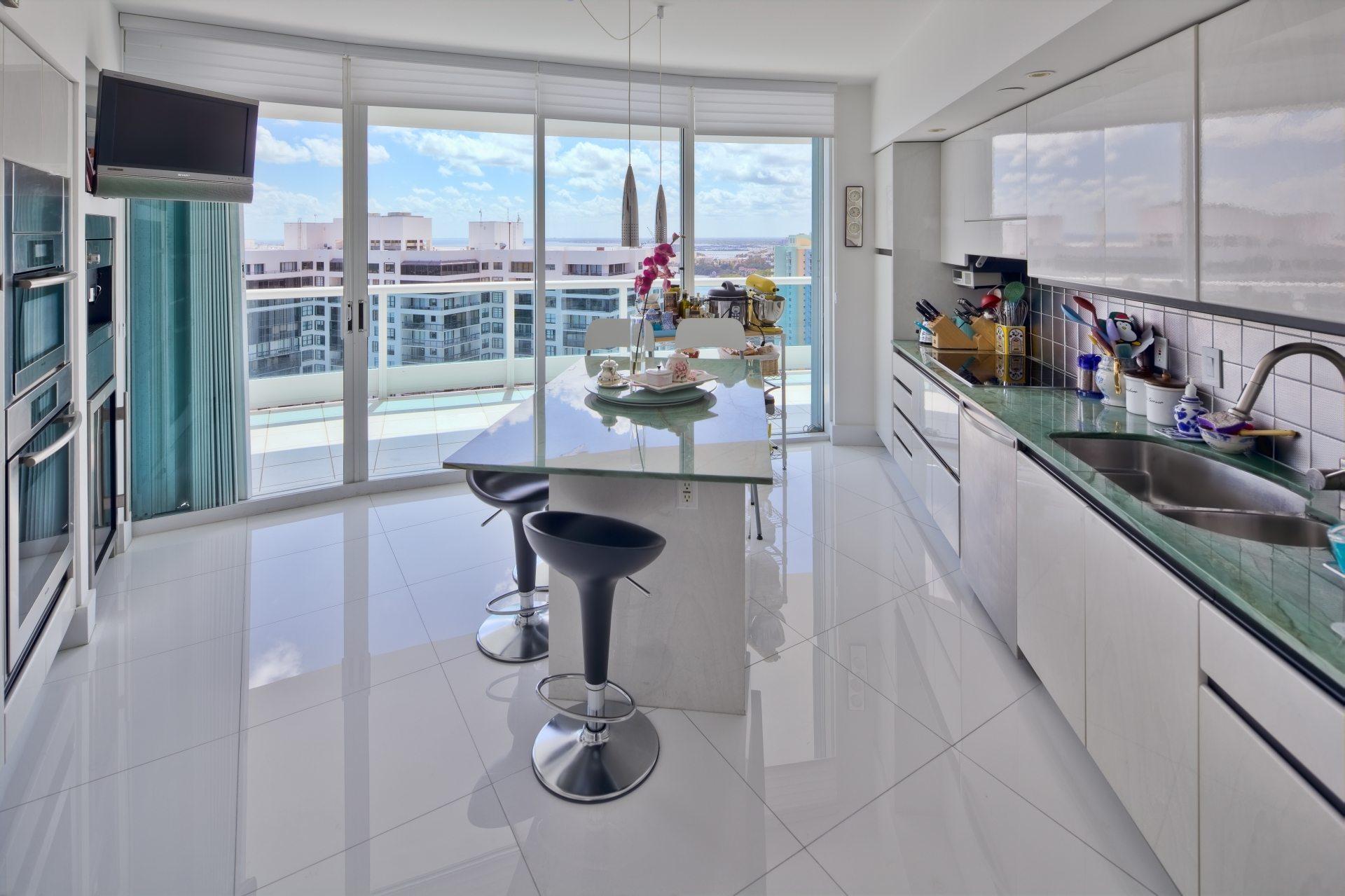 Bristol Tower kitchen