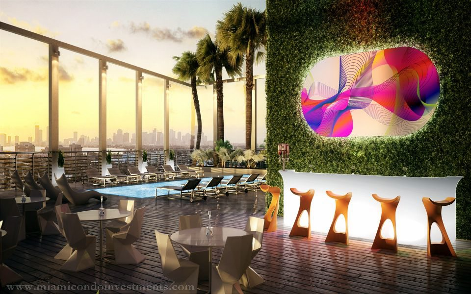 myBrickell pool deck