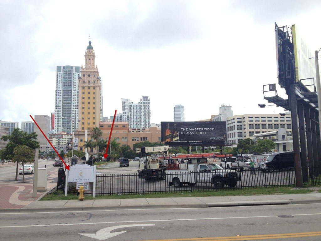 600 and 700 Biscayne Blvd condo site