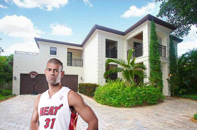 Shane Battier's Coconut Grove home