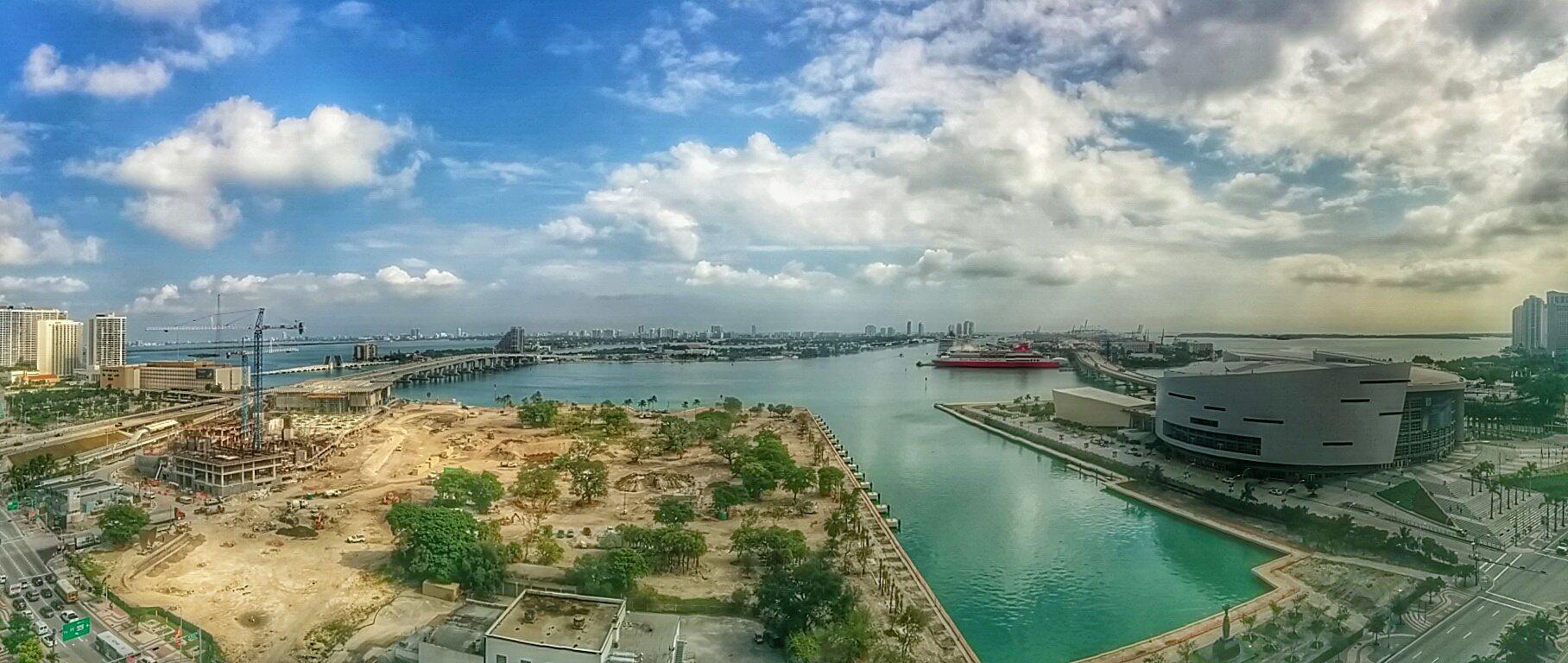 panoramic overlooking Museum Park