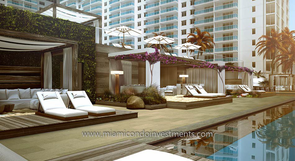 pool deck rendering 1 Hotel and Homes South Beach