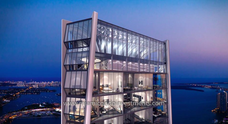 1000 Museum condos by Zaha Hadid