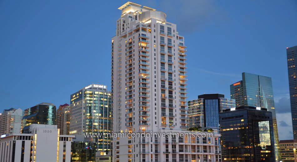 1050 Brickell condos west tower