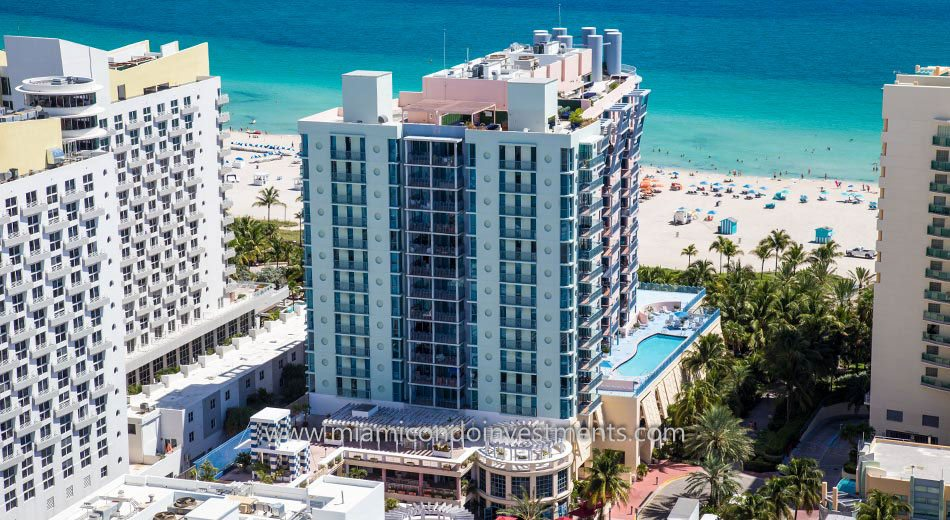 views from 1500 Ocean Drive condos