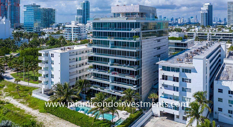 321 Ocean condominium in Miami Beach