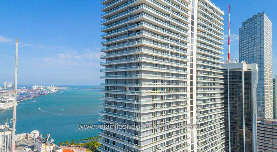 view from 50 Biscayne condos