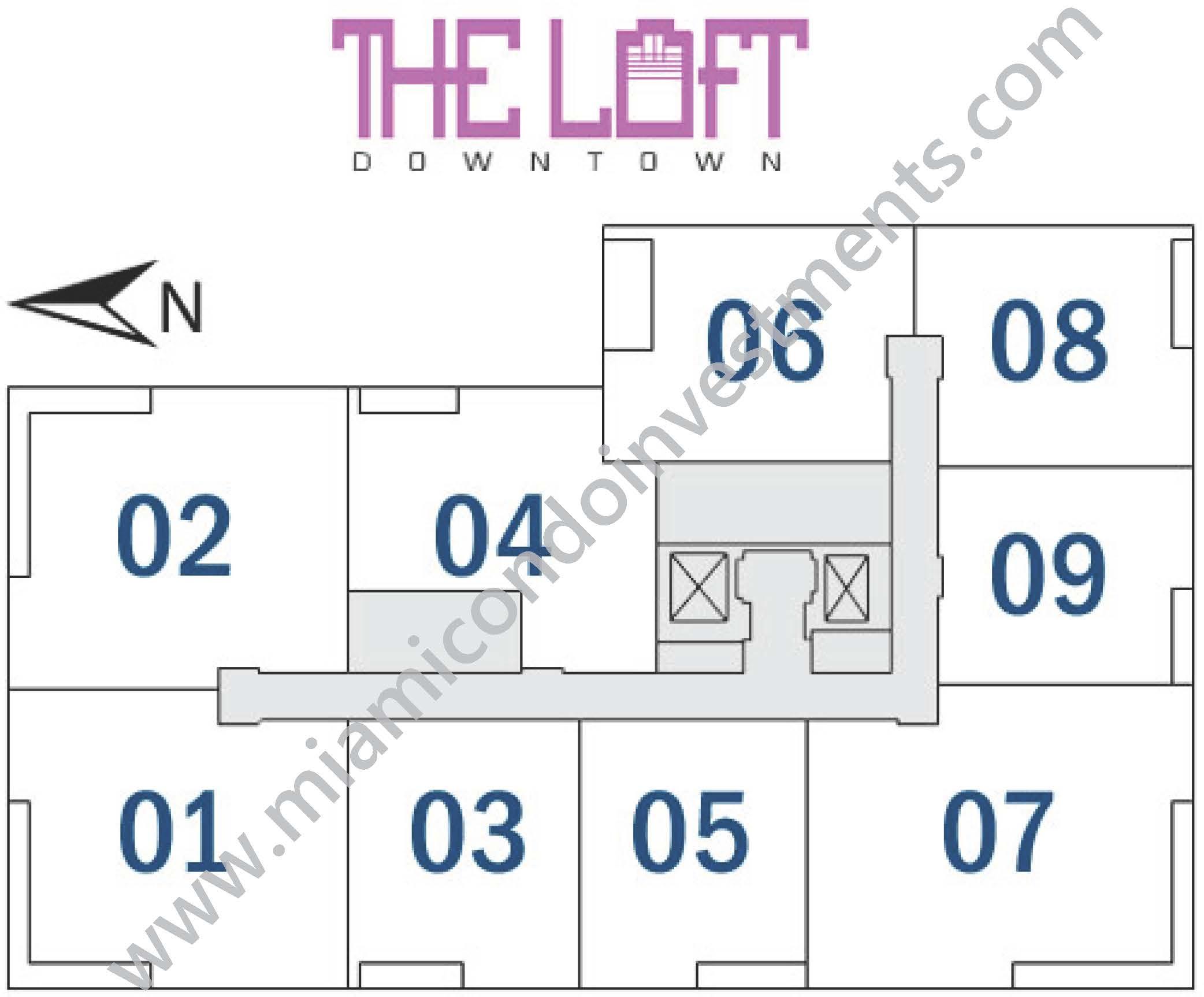 the-loft-downtown-site-plan
