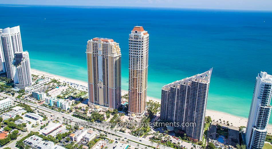 Acqualina condominiums in Sunny Isles Beach
