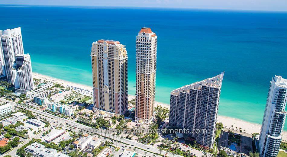 Acqualina condominiums in Sunny Isles Beach