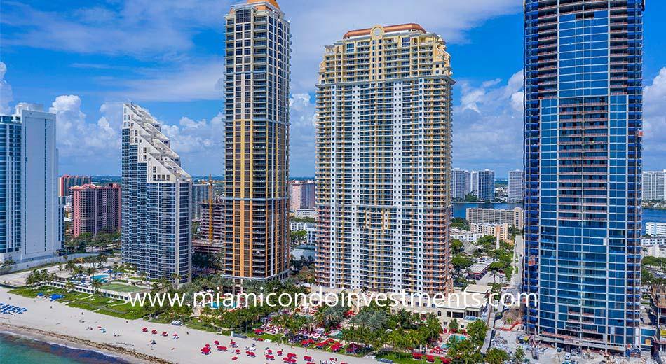 Acqualina condominium in Sunny Isles Beach
