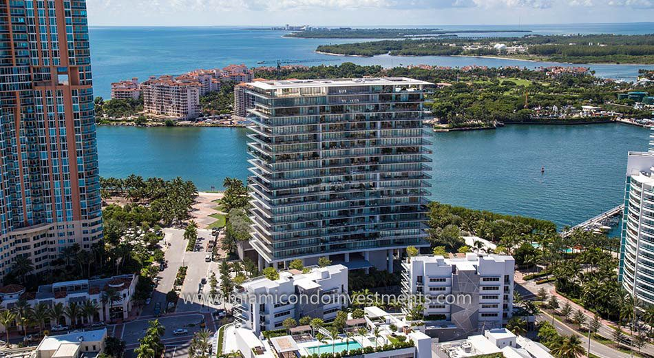 water views from Apogee South Beach