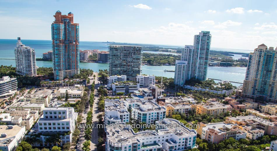 views from Apogee South Beach condos