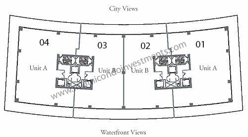 Apogee South Beach condos site plan